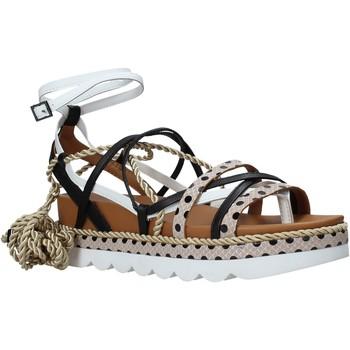 Pantofi Femei Sandale  Manila Grace S620DU Negru