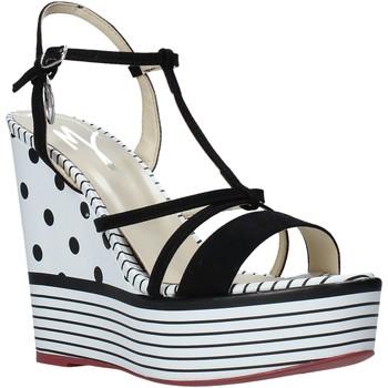 Pantofi Femei Sandale  Manila Grace S605LP Negru