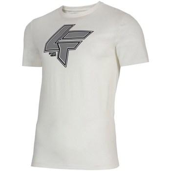Îmbracaminte Bărbați Tricouri mânecă scurtă 4F TSM010 Alb