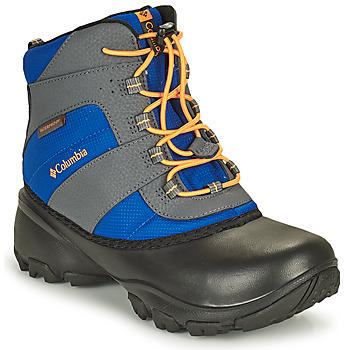 Pantofi Copii Drumetie și trekking Columbia YOUTH ROPE TOW BOY Albastru / Portocaliu
