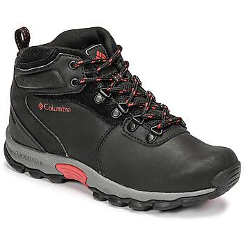 Pantofi Copii Drumetie și trekking Columbia YOUTH NEWTON RIDGE Negru