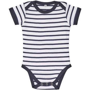 Îmbracaminte Copii Compleuri copii  Sols Body bebé a rayas Azul