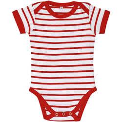 Îmbracaminte Copii Compleuri copii  Sols Body bebé a rayas Rojo