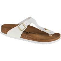 Pantofi Femei  Flip-Flops Birkenstock Gizeh BF Blanc