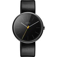 Ceasuri & Bijuterii Bărbați Ceasuri Analogice Braun Brawn BN0172BKBKG, Quartz, 42mm, 3ATM Negru