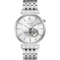 Ceasuri & Bijuterii Bărbați Ceasuri Analogice Bulova 96A235, Automatic, 40mm, 3ATM Argintiu