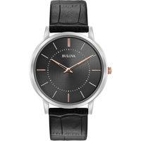 Ceasuri & Bijuterii Bărbați Ceasuri Analogice Bulova 98A167, Quartz, 40mm, 3ATM Argintiu