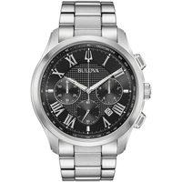 Ceasuri & Bijuterii Bărbați Ceasuri Analogice Bulova 96B288, Quartz, 47mm, 3ATM Argintiu