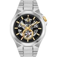 Ceasuri & Bijuterii Bărbați Ceasuri Analogice Bulova 98A224, Automatic, 46mm, 10ATM Argintiu