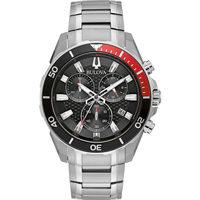 Ceasuri & Bijuterii Bărbați Ceasuri Analogice Bulova 98B344, Quartz, 43mm, 10ATM Argintiu
