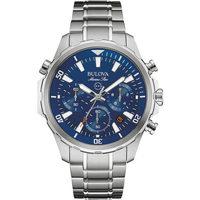 Ceasuri & Bijuterii Bărbați Ceasuri Analogice Bulova 96B256, Quartz, 43mm, 10ATM Argintiu