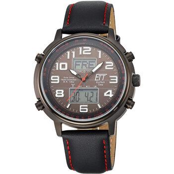 Ceasuri & Bijuterii Bărbați Cesuri Analogic- digital Ett Eco Tech Time Ett  EGS-11452-22L, Quartz, 48mm, 10ATM Gri