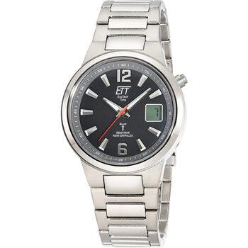 Ceasuri & Bijuterii Bărbați Cesuri Analogic- digital Ett Eco Tech Time Ett  EGT-11465-51M, Quartz, 41mm, 5ATM Argintiu