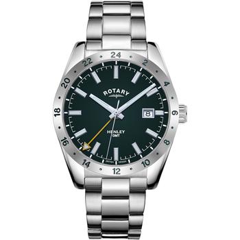 Ceasuri & Bijuterii Bărbați Ceasuri Analogice Rotary GB05176/24, Quartz, 40mm, 10ATM Argintiu