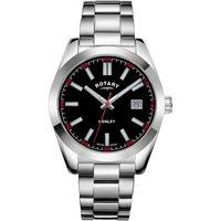 Ceasuri & Bijuterii Bărbați Ceasuri Analogice Rotary GB05180/04, Quartz, 40mm, 10ATM Argintiu