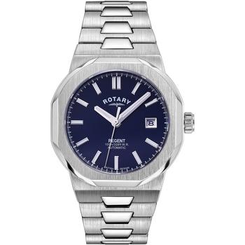 Ceasuri & Bijuterii Bărbați Ceasuri Analogice Rotary GB05410/05, Automatic, 40mm, 10ATM Argintiu