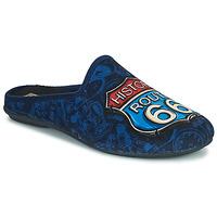 Pantofi Bărbați Papuci de casă Rondinaud ROUTE 67 Albastru