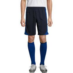 Îmbracaminte Bărbați Pantaloni trei sferturi Sols OLIMPICO pantalon corto hombre Azul