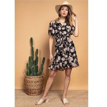 Îmbracaminte Femei Rochii scurte Fashion brands 2145A-NOIR Negru