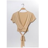 Îmbracaminte Femei Topuri și Bluze Fashion brands FR029T-BEIGE Bej