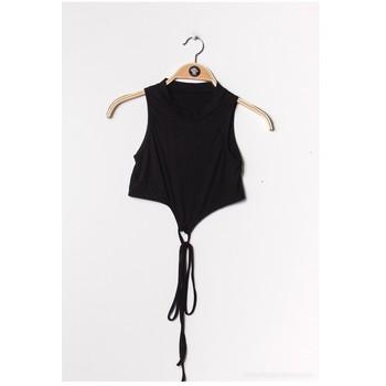 Îmbracaminte Femei Topuri și Bluze Fashion brands FR070-BLACK Negru