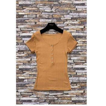 Îmbracaminte Femei Topuri și Bluze Fashion brands HS-2863-BROWN Maro