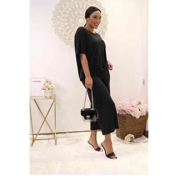 Îmbracaminte Femei Topuri și Bluze Fashion brands 9159-BLACK Negru