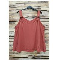 Îmbracaminte Femei Topuri și Bluze Fashion brands 3841-RASPBERRY Roz