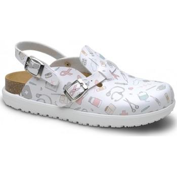Pantofi Femei Saboti Feliz Caminar Zueco Laboral BIO VEGA - Multicolor