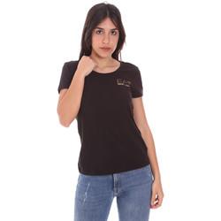 Îmbracaminte Femei Tricouri mânecă scurtă Ea7 Emporio Armani 8NTT65 TJ28Z Negru