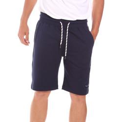 Îmbracaminte Bărbați Pantaloni scurti și Bermuda Key Up 2F38E 0001 Albastru