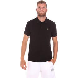 Îmbracaminte Bărbați Tricou Polo mânecă scurtă Refrigiwear RM0T25900PQ9002 Negru