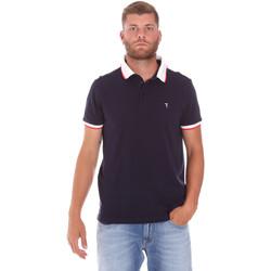 Îmbracaminte Bărbați Tricou Polo mânecă scurtă Trussardi 52T00491-1T003600 Albastru