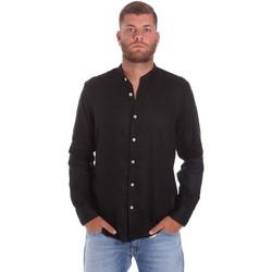 Îmbracaminte Bărbați Cămăsi mânecă lungă Refrigiwear RM0C10100LI9110 Negru