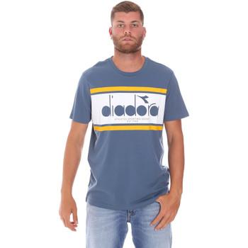 Îmbracaminte Bărbați Tricouri mânecă scurtă Diadora 502176632 Albastru
