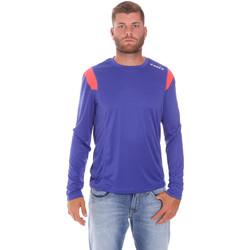 Îmbracaminte Bărbați Tricouri cu mânecă lungă  Diadora 102175720 Albastru