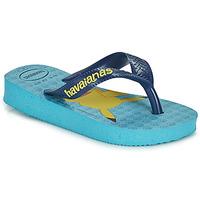 Pantofi Băieți  Flip-Flops Havaianas KIDS TOP POKEMON Albastru