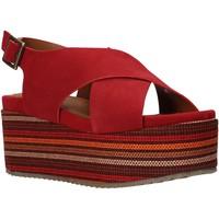 Pantofi Femei Sandale  Onyx S20-SOX753 Roșu