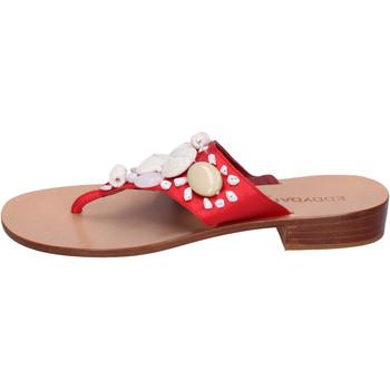 Pantofi Femei  Flip-Flops Eddy Daniele AW374 Roșu