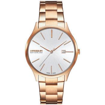 Ceasuri & Bijuterii Bărbați Ceasuri Analogice Hanowa 16-5075.09.001, Quartz, 40mm, 3ATM Auriu