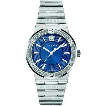 Ceasuri & Bijuterii Bărbați Ceasuri Analogice Versace VEVH00520, Quartz, 38mm, 5ATM Argintiu