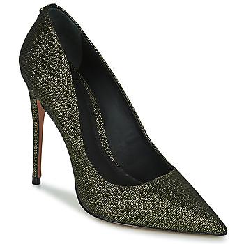 Pantofi Femei Pantofi cu toc Cosmo Paris AELIA 2 Negru / Auriu