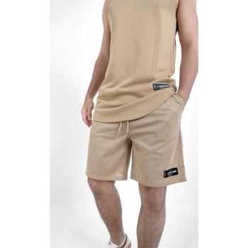 Îmbracaminte Bărbați Pantaloni scurti și Bermuda Sixth June Short  Mesh beige