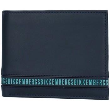 Genti Bărbați Portofele Bikkembergs E2BPME2D3043 BLUE