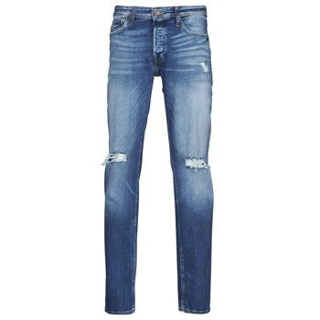 Îmbracaminte Bărbați Jeans slim Jack & Jones JJITIM JJORIGINAL Albastru / Medium