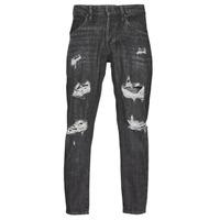 Îmbracaminte Bărbați Jeans slim Jack & Jones JJIFRANK JJLEEN Negru