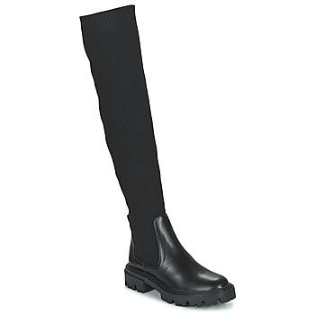 Pantofi Femei Cizme lungi peste genunchi Vanessa Wu BECH Negru