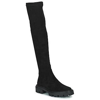 Pantofi Femei Cizme lungi peste genunchi Vanessa Wu PONANT Negru