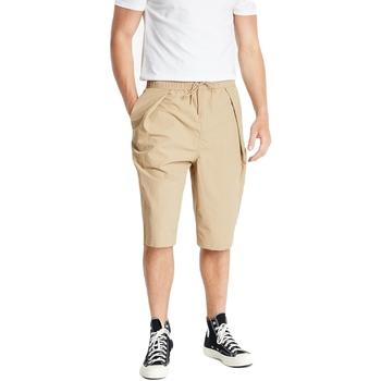 Îmbracaminte Pantaloni scurti și Bermuda Converse Shapes Triangle Bej