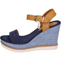 Pantofi Femei Sandale  Enrico Coveri BH490 Albastru